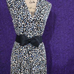 NWT sexy leopard print rockabilly dress